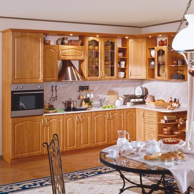 Кухня Оля вишня\ольха
