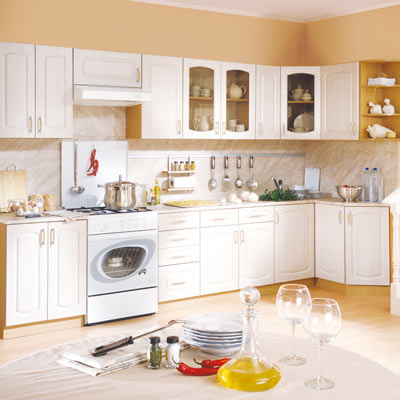 Кухня Регина бежевая