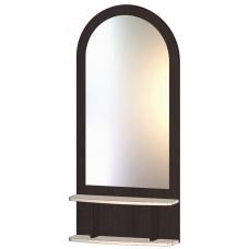 Зеркало с полкой венге
