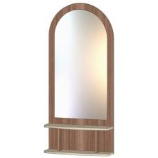 Зеркало с полкой шимо