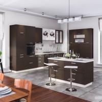 Кухня Регина от 20520 руб. за метр Дуб Сантана темная