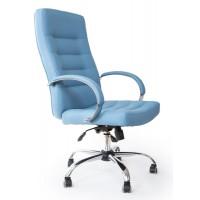 Кресло Милан голубое