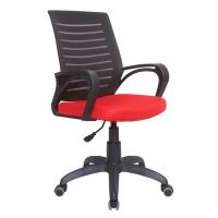 Кресло Сириус чёрно-красное