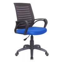 Кресло Сириус чёрно-синий